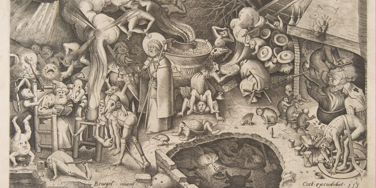 St. James and the Magician Hermogenes