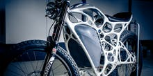Why Does the First 3D-Printed Electric Bike Look Completely Nuts?