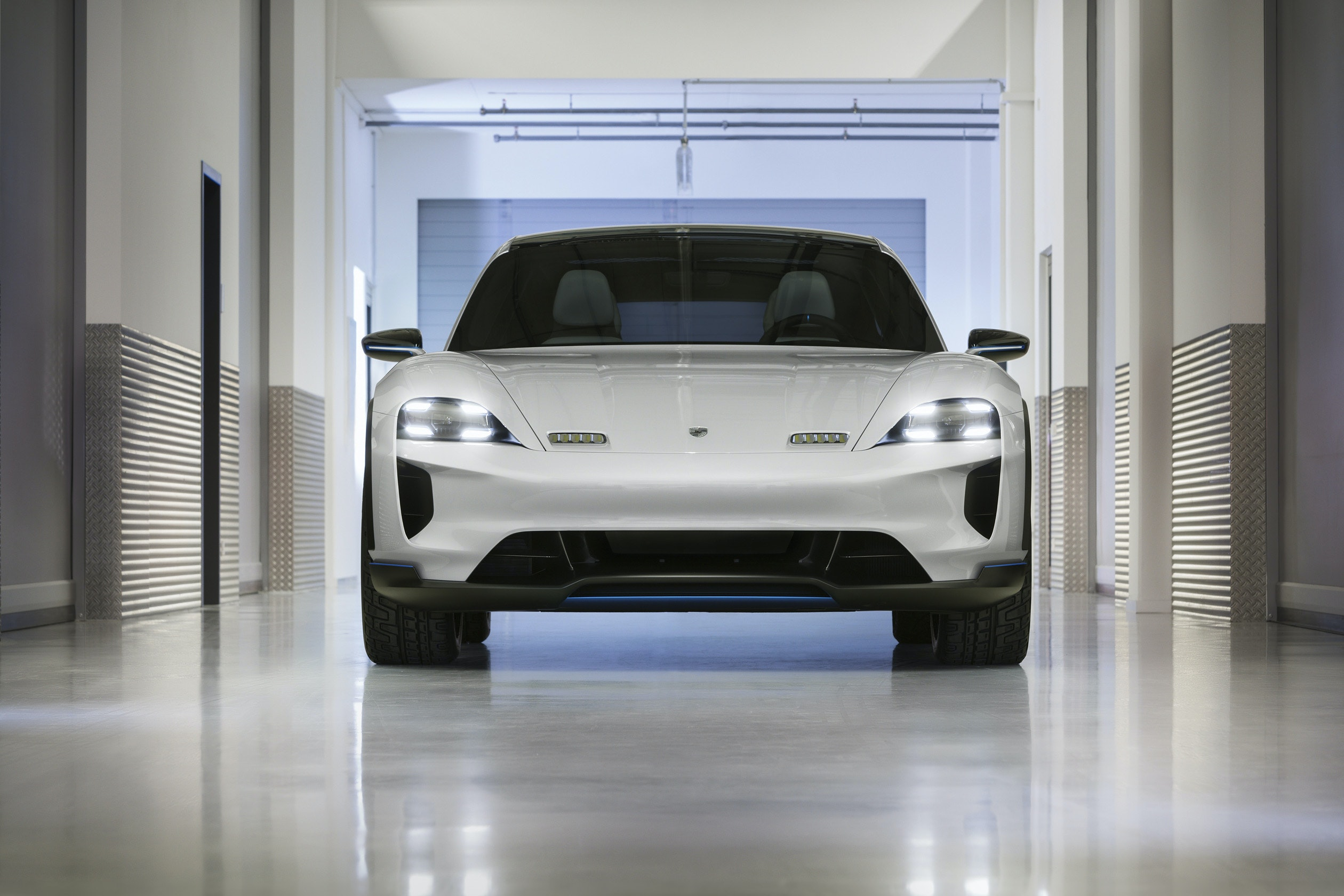 Porsche Just Unveiled an Electric SUV to Take On Tesla Model