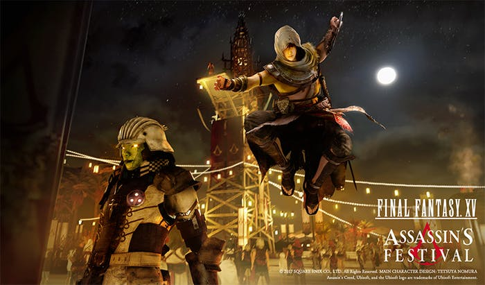 Final Fantasy and Assassin's Creed have no business crossing over.