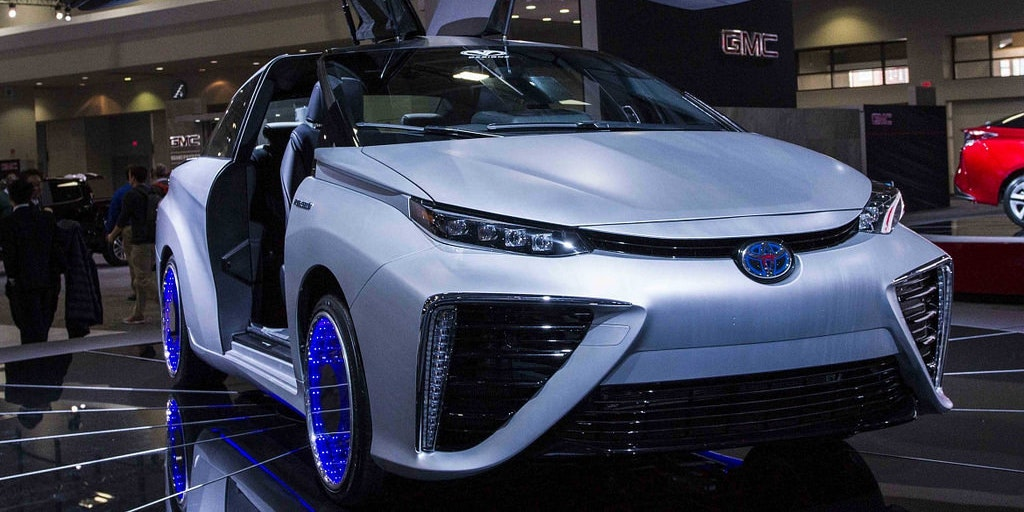 Using biogas gas, Toyota plans on converting human waste into hydrogen fuel.
