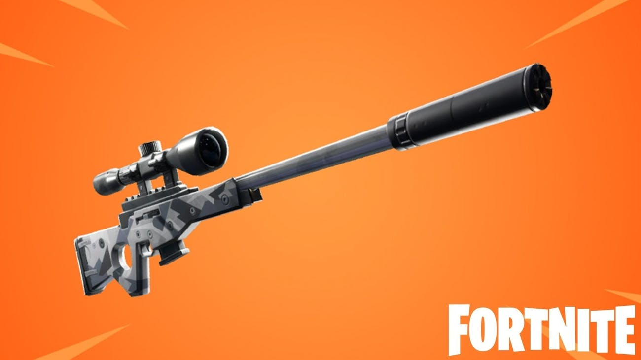 fortnite suppressed sniper rifle - vaulted fortnite guns