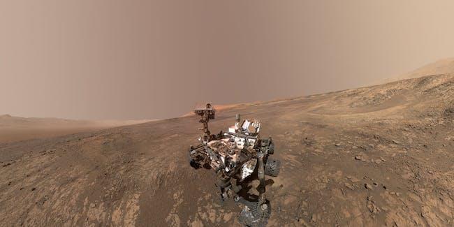 Mars Rover Vera Rubin Ridge