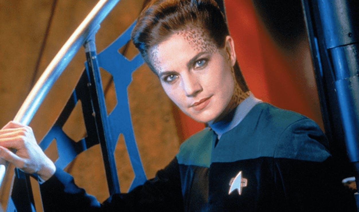 Dax on 'Deep Space Nine.'