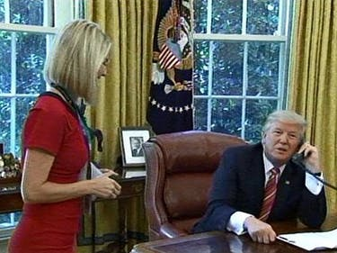 donald trump creepy irish reporter