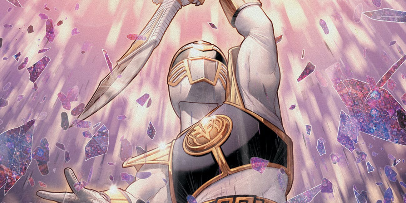 Mighty Morphin Power Rangers Issue 40 White Ranger Comic Variant