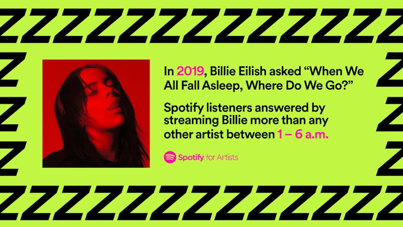 Billie Eilish banner.