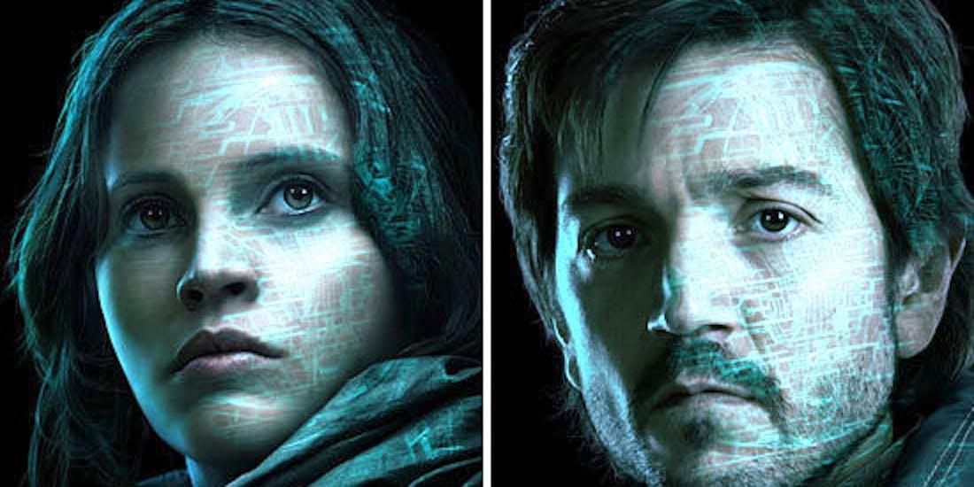Felicity Jones as Jyn Erso in 'Rogue One'
