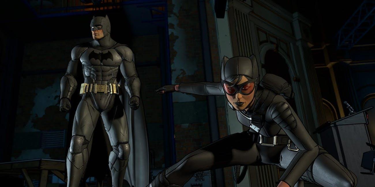 Telltale Batman Catwoman