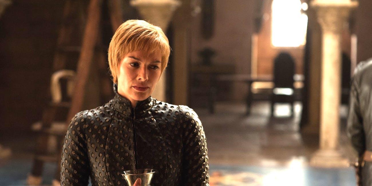 "Lena Headey as Cersei Lannister in 'Game of Thrones' Season 7 episode 1, ""Dragonstone"""
