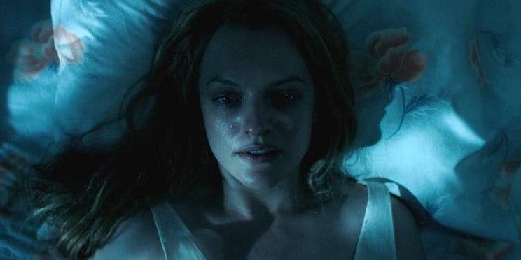 Elizabeth Moss as Offred in The Handmaid's Tale