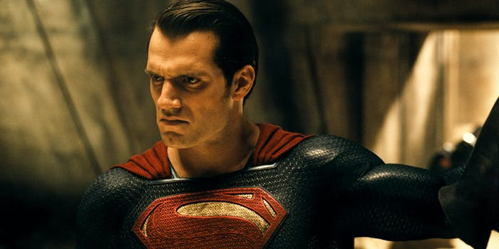 Henry Cavill as Superman in 'Batman v Superman'