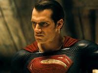 Henry Cavill as Superman in 'Batman v Superman'