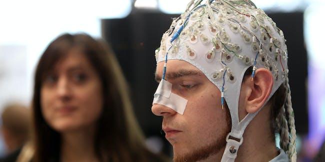 Brain computer interface brain scan mind reading