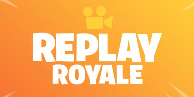 Fortnite replay system