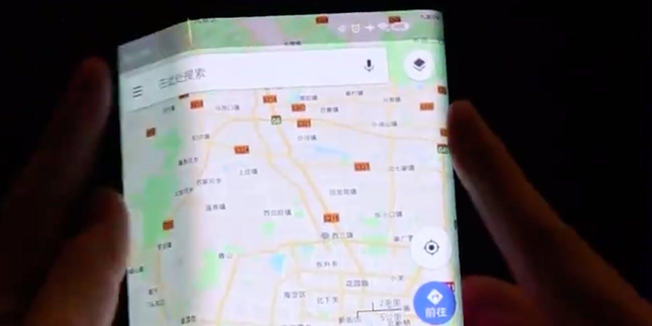 xiaomi foldable phone leak