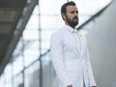 Justin Theroux Got All Beat Up Filming 'The Leftovers'