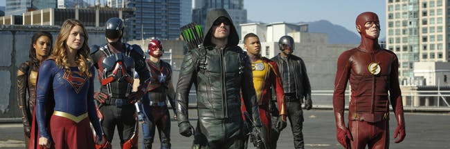 Arrow Supergirl Flash Legends of Tomorrow