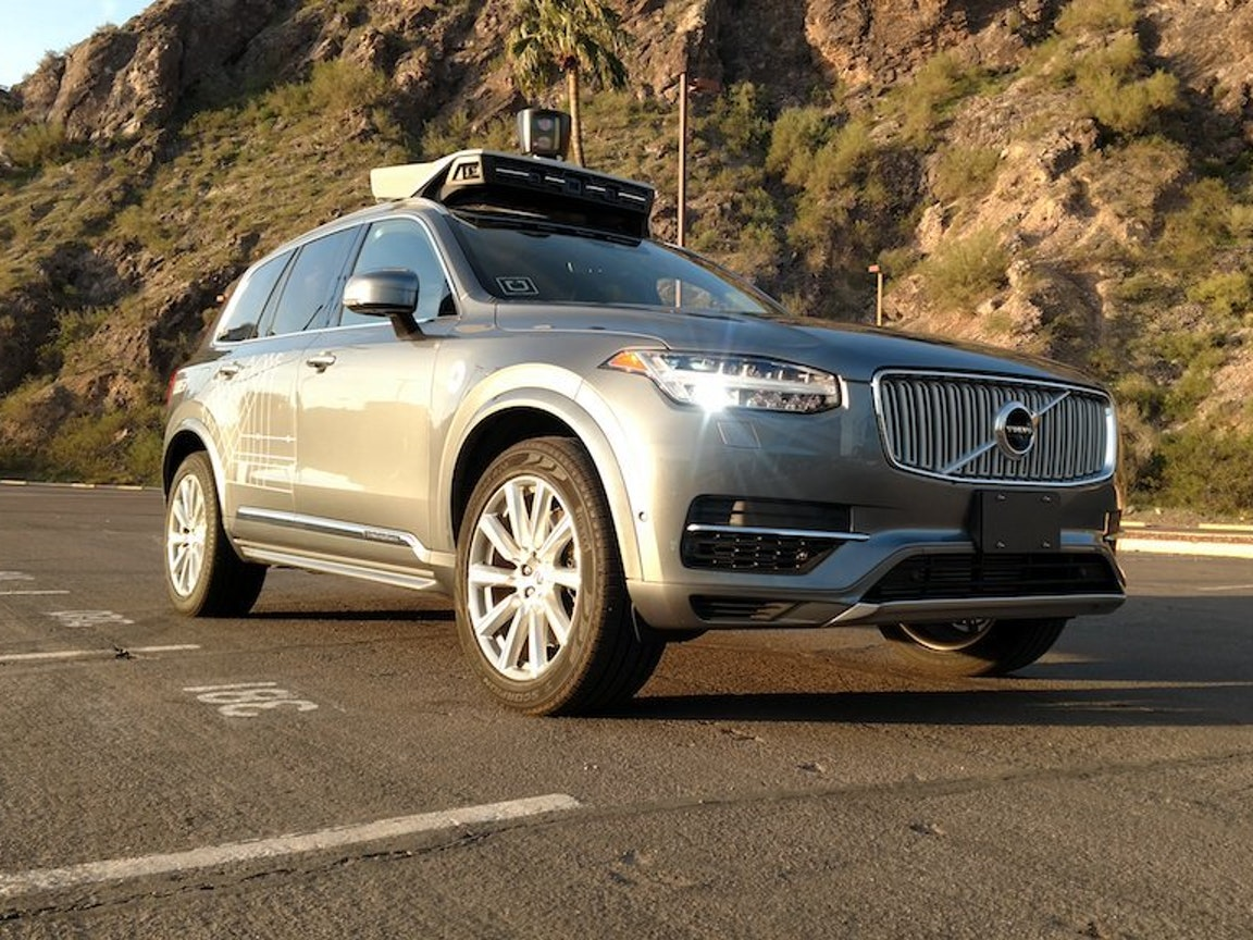 Uber Shows Off Self-Driving Cars That Got Kicked Out of California