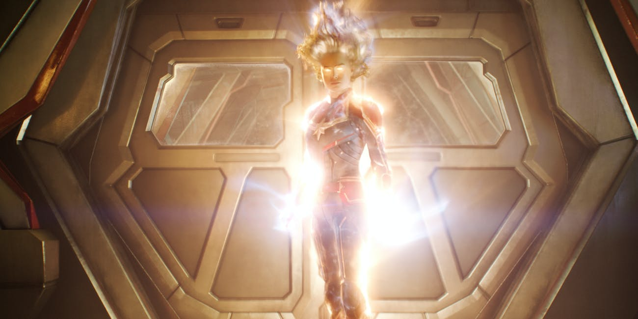 Captain Marvel VFX Superpowers