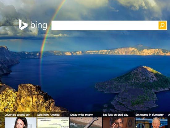 Wait, People Are Actually Using Bing