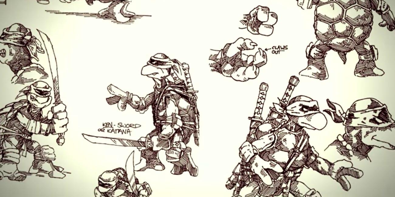Netflix Ninja Turtles Concept Art
