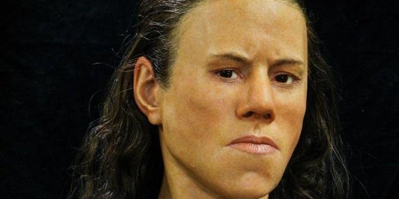 Greek scientists reconstructed the face of a teen who died 9,000 years ago.