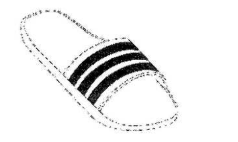 "An illustration of the athleisure staple, the Adidas slip-on ""adi-slide"" sandal, was included in the court filing by Adidas against Tesla."
