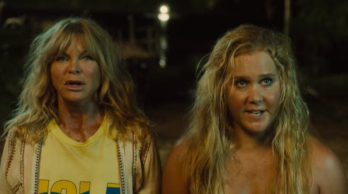 Goldie Hawn and Amy Schumer in 'Snatched'