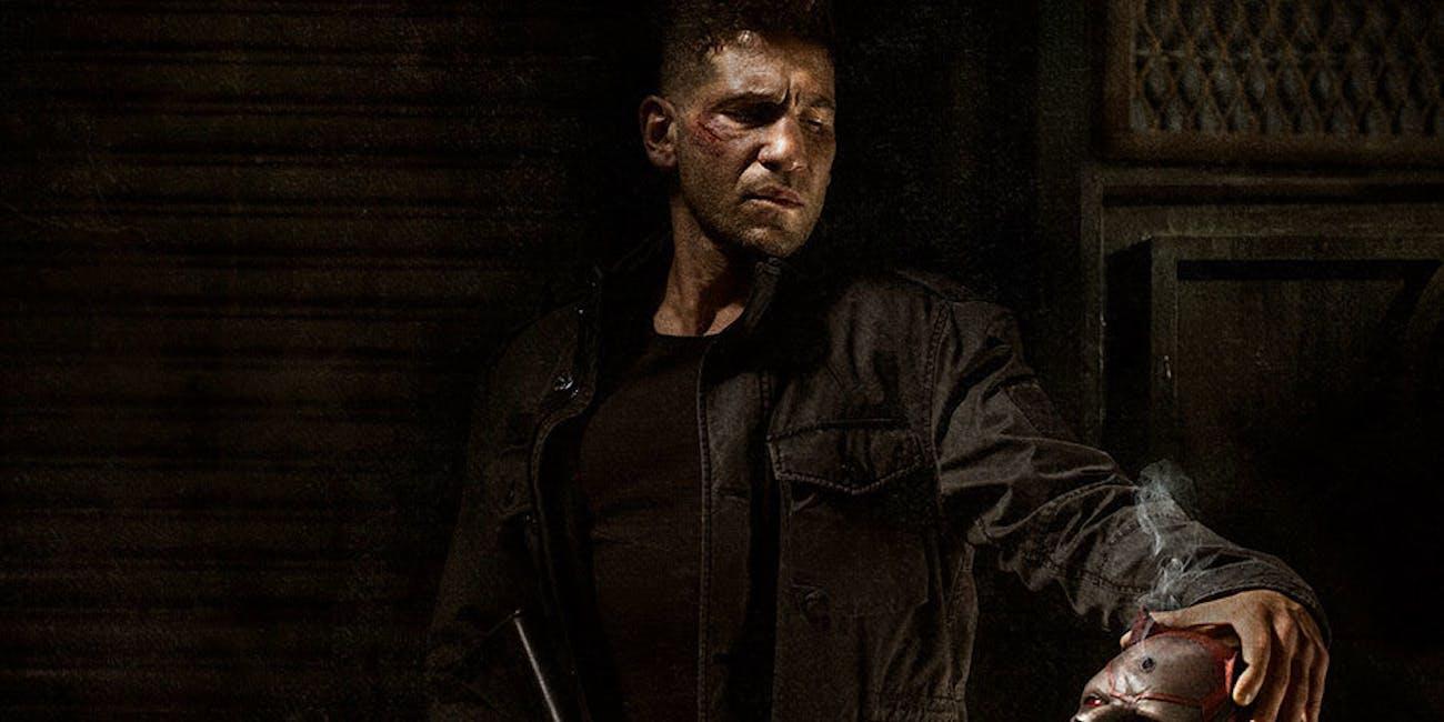 Jon Bernthal as Punisher for Netflix's Marvel Show Daredevil