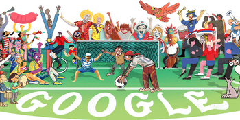 Google Doodle World Cup 2018