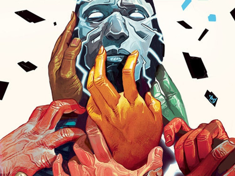 'Mosaic' Is Marvel's Original Basketball Player Superhero