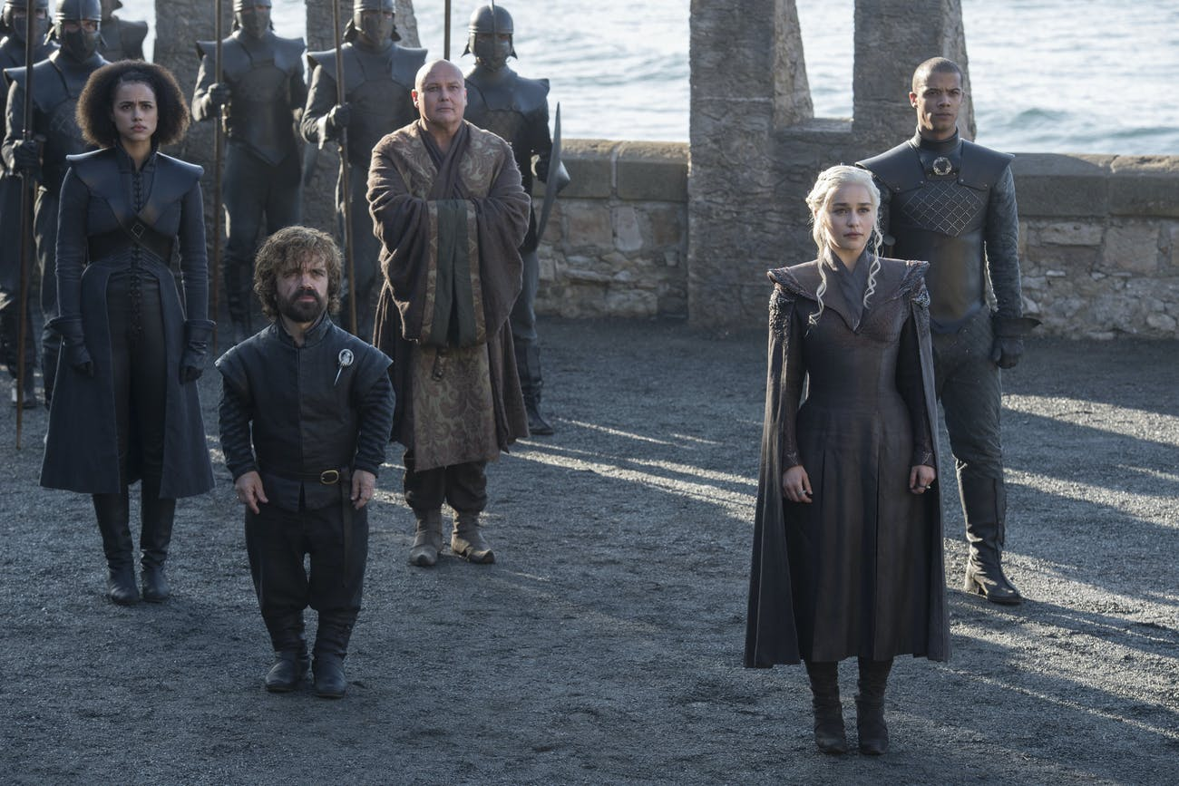Daenerys and Tyrion in 'Game of Thrones' Season 7