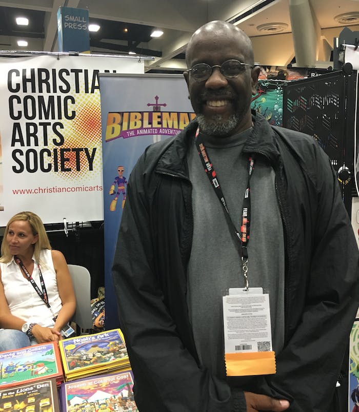 Ralph Ellis Miley of the Christian Comics Arts Society