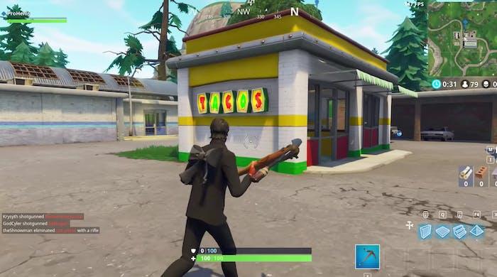 Fortnite taco shop