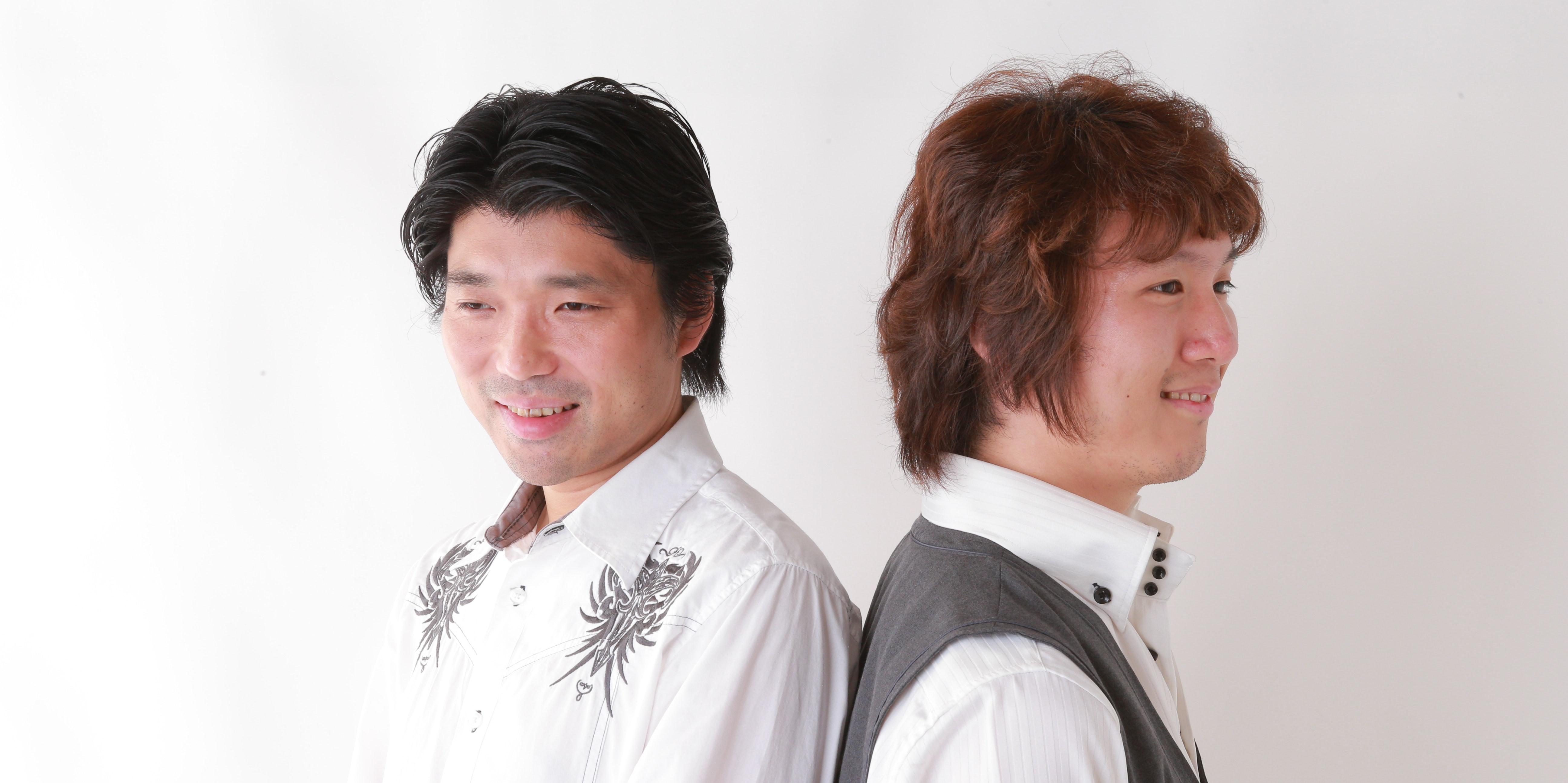 Norihiko Hibino and pianist Ayaki perform as the duo GENTLE LOVE.