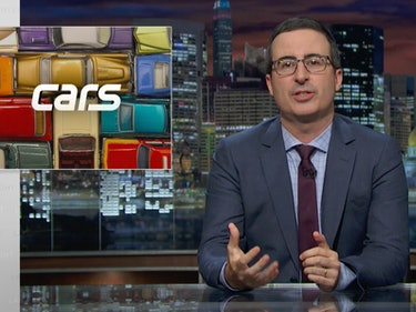John Oliver Attacks 'Un-Trucking-Believable' Auto Loans