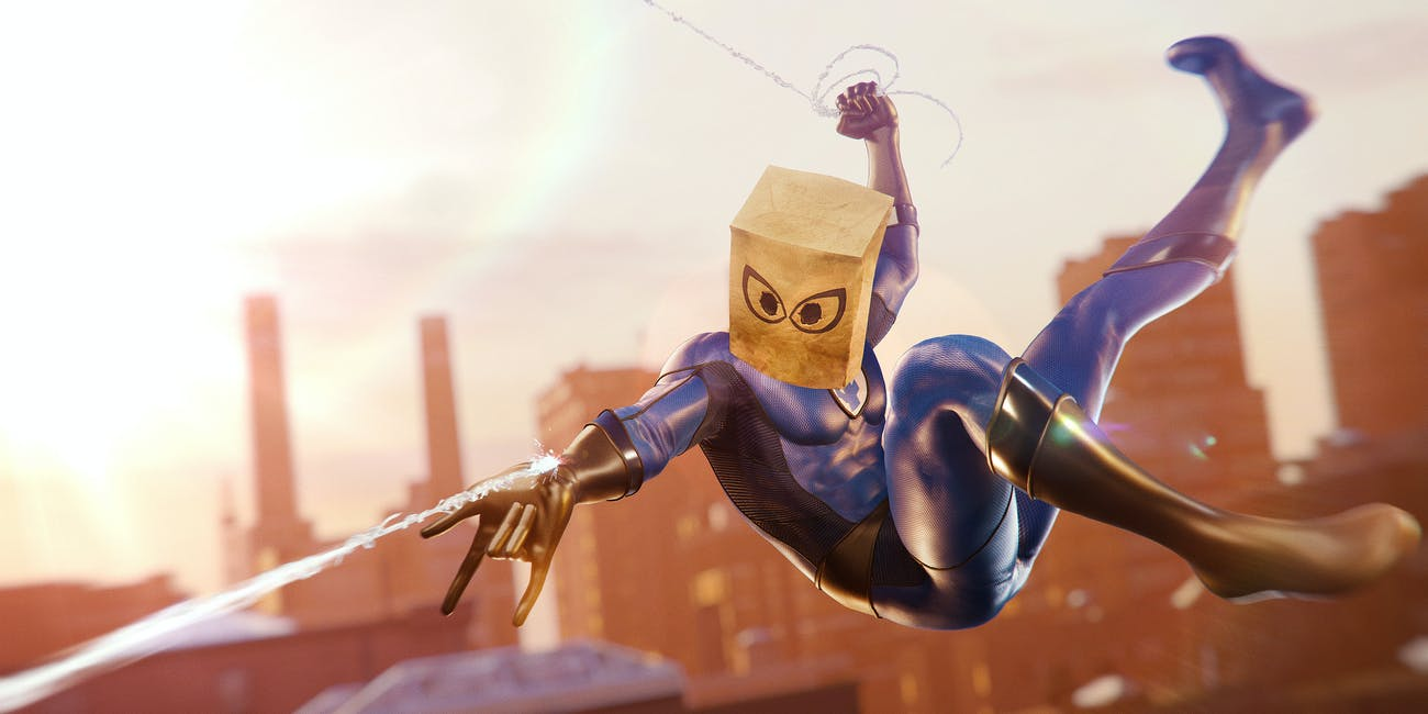 Spider-Man PS4 Bombastic Bag Man Fantastic Four