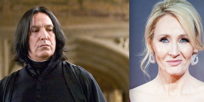 JK Rowling Apologizes For Killing Snape