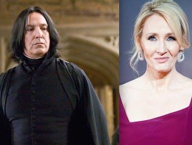 J.K. Rowling Feels Bad About Killing Snape, Fans Freak Out