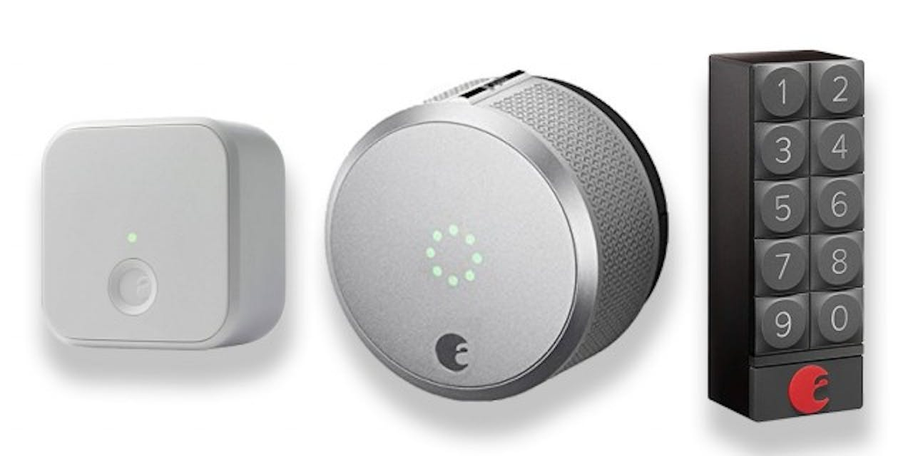 August Smart Lock Pro + Connect + KeyPad