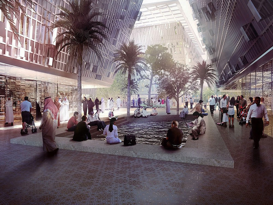 Masdar City is Epcot Center for urbanists and prominent retailers.