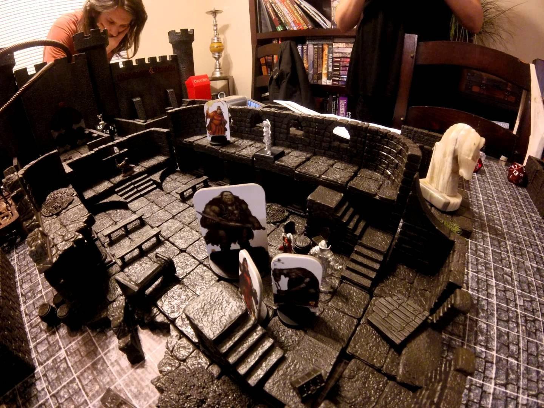 Pathfinder RPG Board Consturction