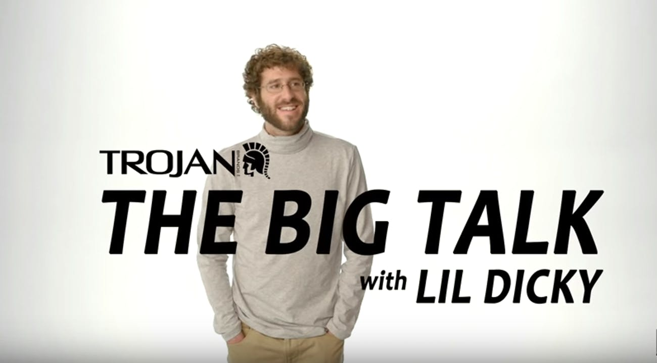 lil dicky trojan commercial