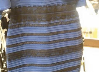 Blue and black dress illusion explained in detail