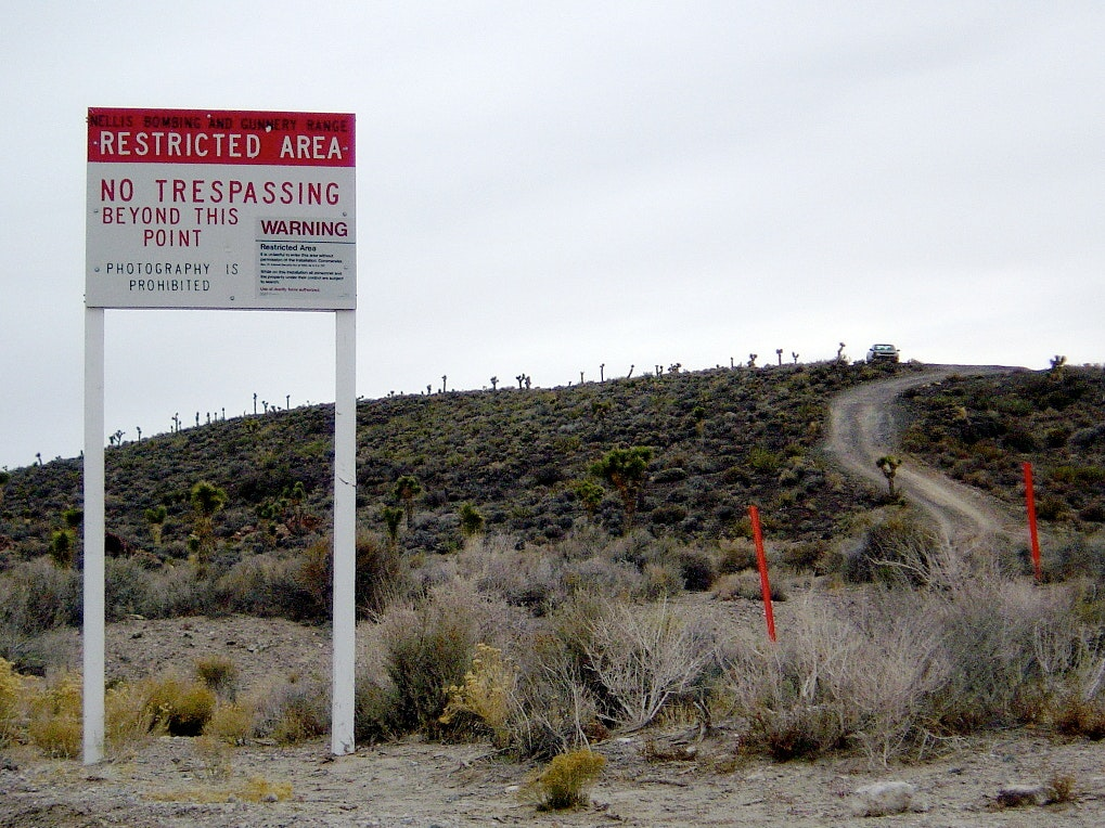 This Could Be the Last Drone Footage of Area 51 You'll Ever See