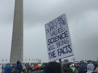 The 10 Cheekiest Statements at the March for Science