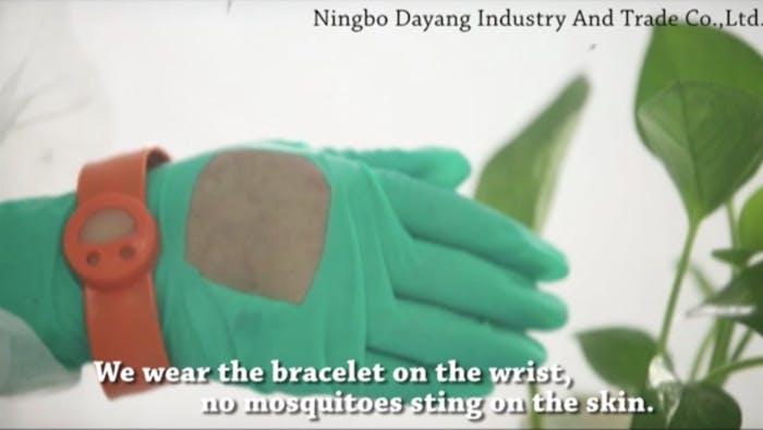 mosquito wristband test