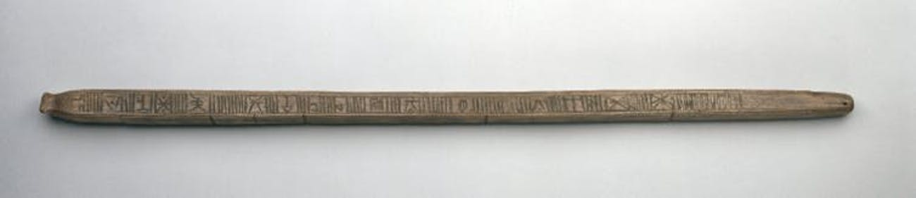 A tally stick found in Scandinavia.