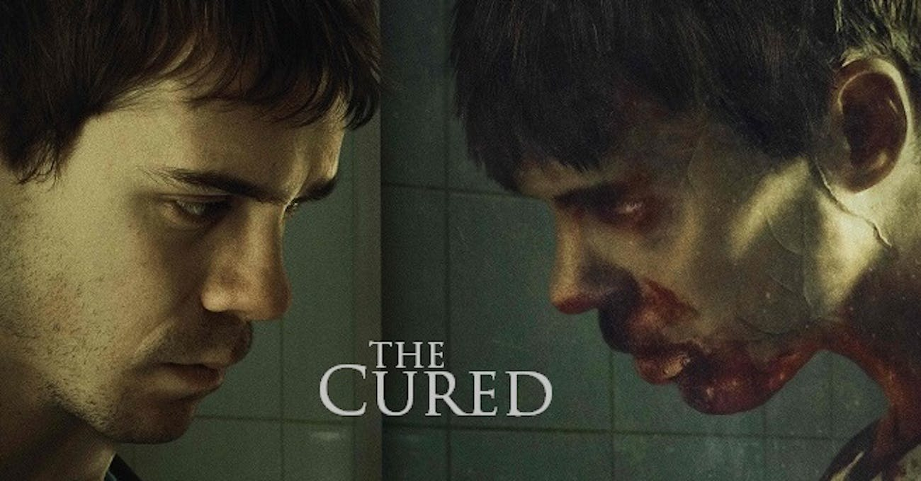 Sam Keeley has to play different versions of Senan in 'The Cured'.